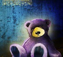 Lonely Teddy Bear Toy by GalinaFedulova