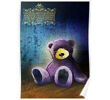 Lonely Teddy Bear Toy Poster