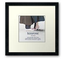 TenRose Framed Print