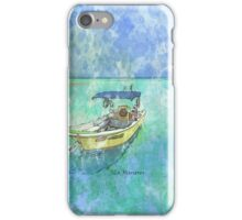 Dive Boat at Mia Reef, Isla Mujeres iPhone Case/Skin