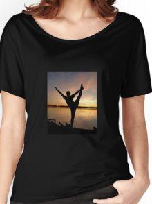 dancer at sunset Women's Relaxed Fit T-Shirt