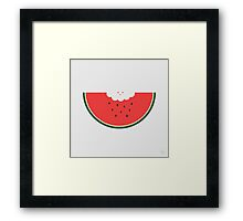 Water Melon Framed Print