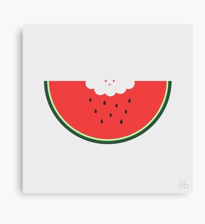 Water Melon Canvas Print
