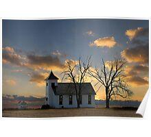 Little Church On The Prairie Poster