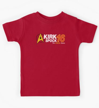 Kirk / Spock 2016 Kids Tee