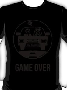Just Married – Game Over (1C) T-Shirt