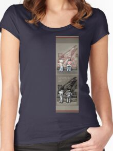 Rush Hour Parking, Also Women's Fitted Scoop T-Shirt