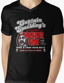 Captain Spaulding Murder Ride Mens V-Neck T-Shirt