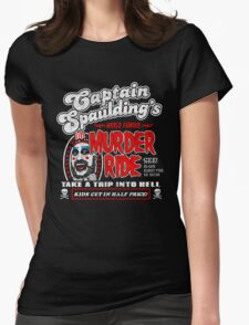 Captain Spaulding Murder Ride Womens Fitted T-Shirt