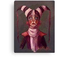 Jester Doll Canvas Print