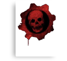 Gears Of War Logo  Canvas Print