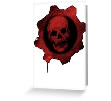 Gears Of War Logo  Greeting Card