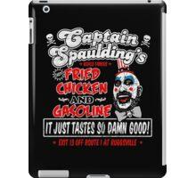 Captain Spaulding Fried Chicken & Gasoline iPad Case/Skin