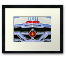 Retro One Framed Print