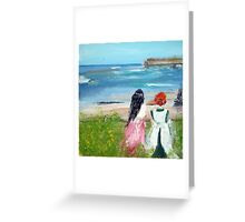 By The Shore By Colleen Ranney Greeting Card