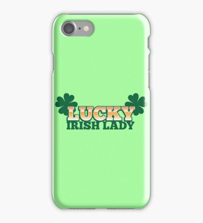 lucky IRISH lady iPhone Case/Skin