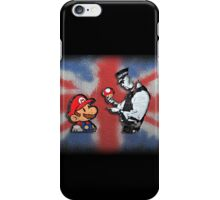 super mario - mushrooms addicted england iPhone Case/Skin