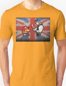 super mario - mushrooms addicted england Unisex T-Shirt