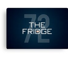 The Fridge Canvas Print