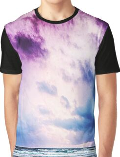 Cloudy shores Graphic T-Shirt