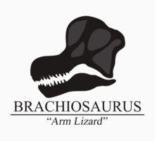 Brachiosaurus Skull Kids Tee