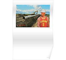 JR Laying Pipe Poster