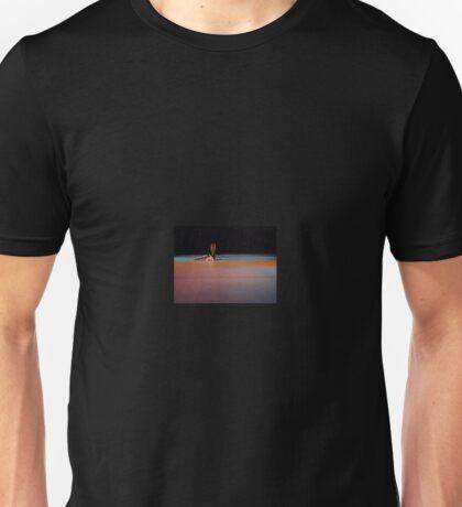 dancer in colored lights Unisex T-Shirt