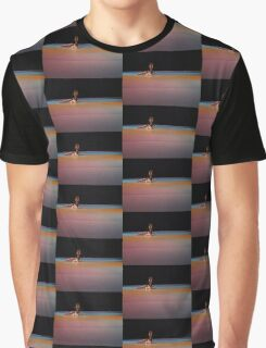 dancer in colored lights Graphic T-Shirt