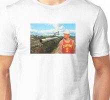 JR Laying Pipe Unisex T-Shirt