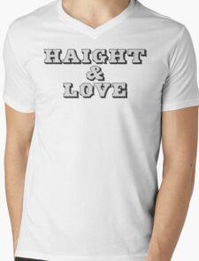 Haight & Love Mens V-Neck T-Shirt
