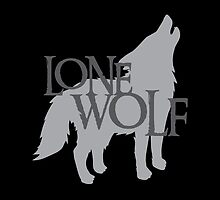 Lone WOLF with wolf howling by jazzydevil