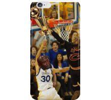 Lebron Robs Steph iPhone Case/Skin