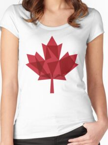 O Canada Women's Fitted Scoop T-Shirt