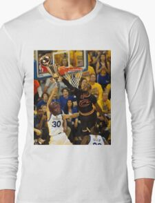 Lebron Robs Steph Long Sleeve T-Shirt