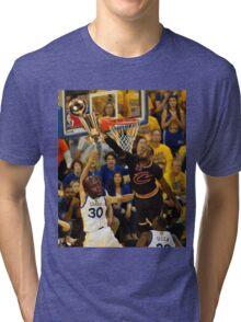 Lebron Robs Steph Tri-blend T-Shirt