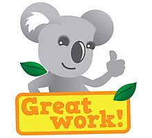 Great work Koala cute Photographic Print