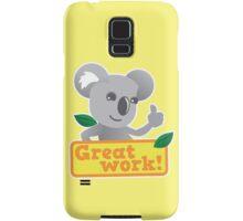 Great work Koala cute Samsung Galaxy Case/Skin