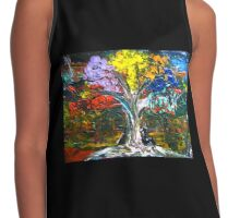 The World Moves For Love Contrast Tank