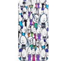 Robyn's People iPhone Case/Skin