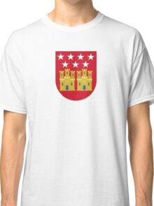 Coat of Arms of the Community of Madrid (Shield) Classic T-Shirt