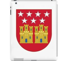 Coat of Arms of the Community of Madrid (Shield) iPad Case/Skin