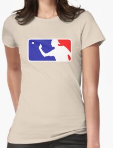 Beer Pong.  Womens Fitted T-Shirt