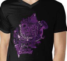The Colour Purple Mens V-Neck T-Shirt