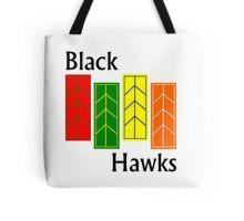 Black Hawks  Tote Bag
