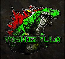 Yoshizilla (Print Version) by Rodrigo Marckezini