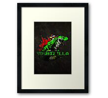 Yoshizilla (Print Version) Framed Print