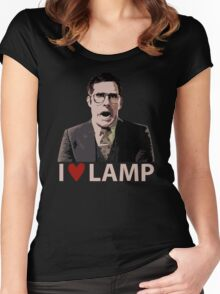 Anchorman I Love Lamp Women's Fitted Scoop T-Shirt
