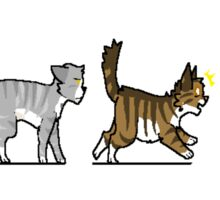 CatsInARow Sticker