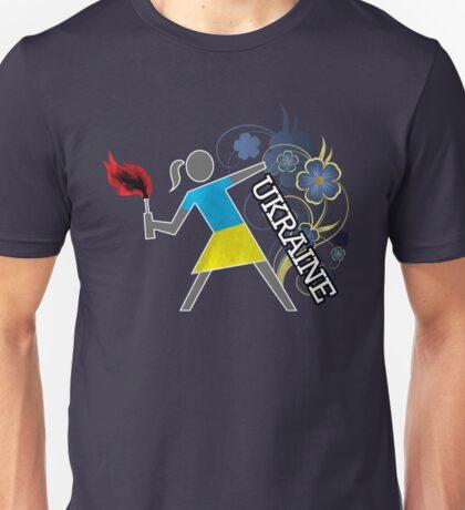 Ukrainian Molotov Girls Unisex T-Shirt