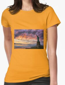 Symbol of Hope Womens Fitted T-Shirt